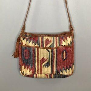 ⭐️NEW ARRIVAL Vintage Kilim Tapestry Crossbody Bag